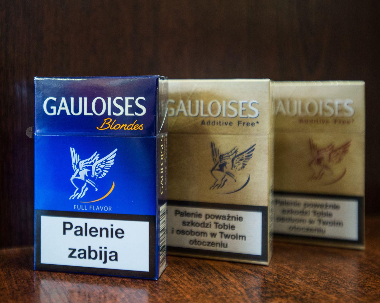 Zigaretten/Gauloises/Imperial