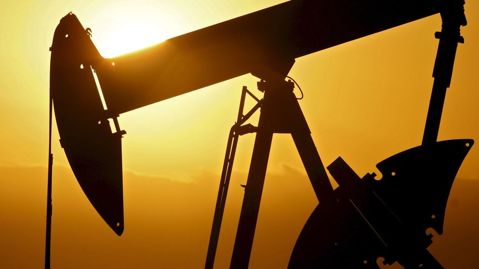 Ölfeld in Oklahoma
