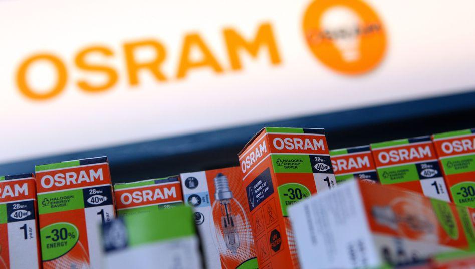 Osram produziert mittlerweile hauptsächlich LEDs und Optoelektronik