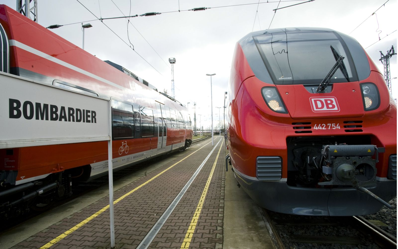 Deutsche Bahn / Bombardier-Werk in Hennigsdorf