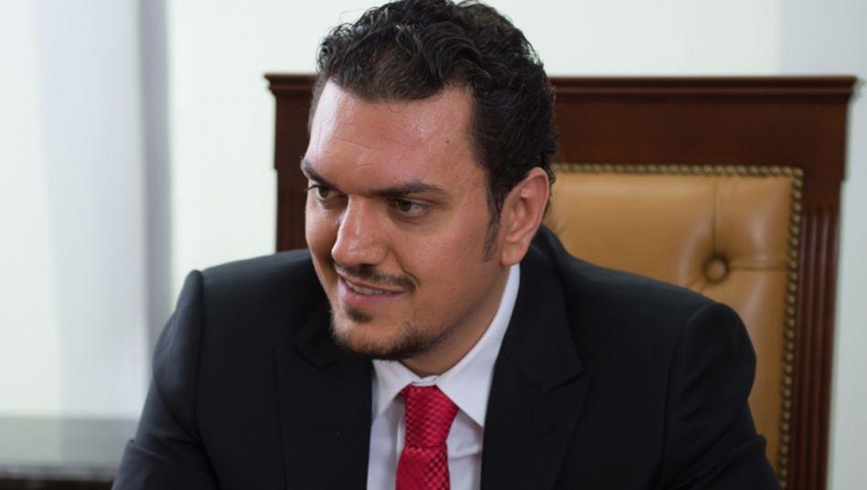 Sorgt für stets frische Milch: Der Unternehmer Moutaz Al Khayyat lässt 4000 Milchkühe nach Katar fliegen