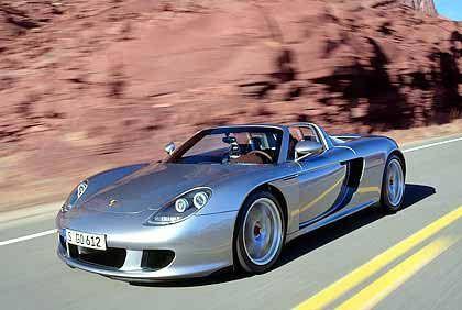 Offensichtliches Zitat: Porsche Carrera GT