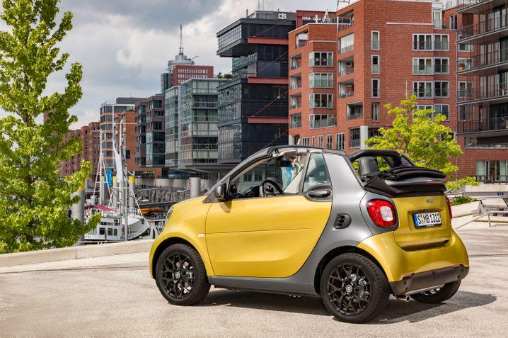 Das günstigste Cabrio für zwei Personen: Das Smart Fortwo Cabrio ab 14.365 Euro