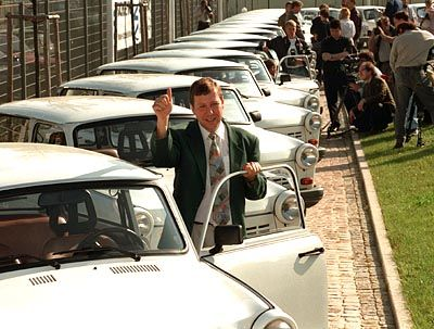 """Schön war die Zeit: Mit dem """"Trabbi"""" wurde Sachsenring berühmt. Nach zunächst gelungener Sanierung ist die AG inzwischen pleite"""