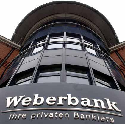Veränderungen im Vorstand: Weberbank-Zentrale in Berlin