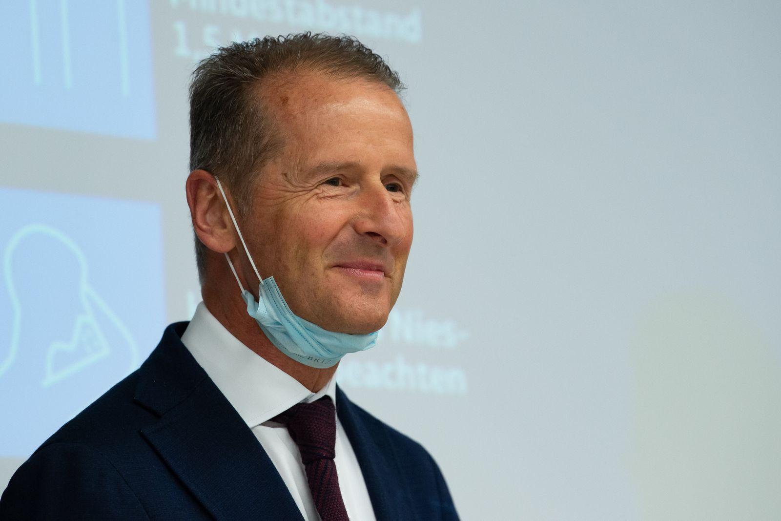 Coronavirus - VW-Werk Wolfsburg - Herbert Diess