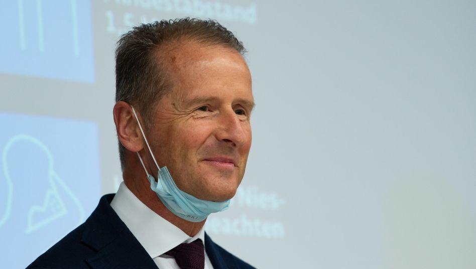 Noch im Frühjahr forderte Volkswagen-Chef Herbert Diess mehr staatliche Kaufanreize und milliardenschwere Unterstützung für seine Branche. Jetzt denkt er um