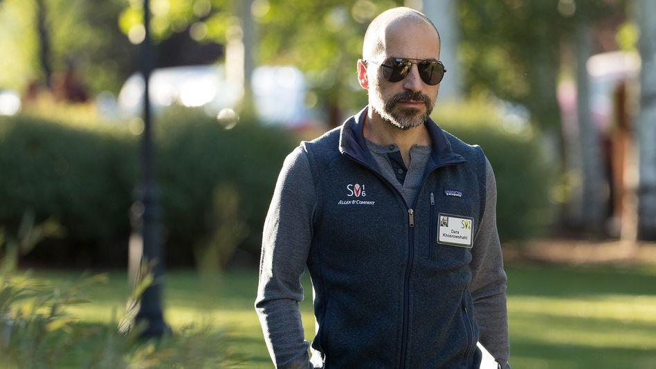 Uber-Chef Dara Khosrowshahi in Patagonia-Weste (von Allen & Company auf deren Sun Valley Conference)