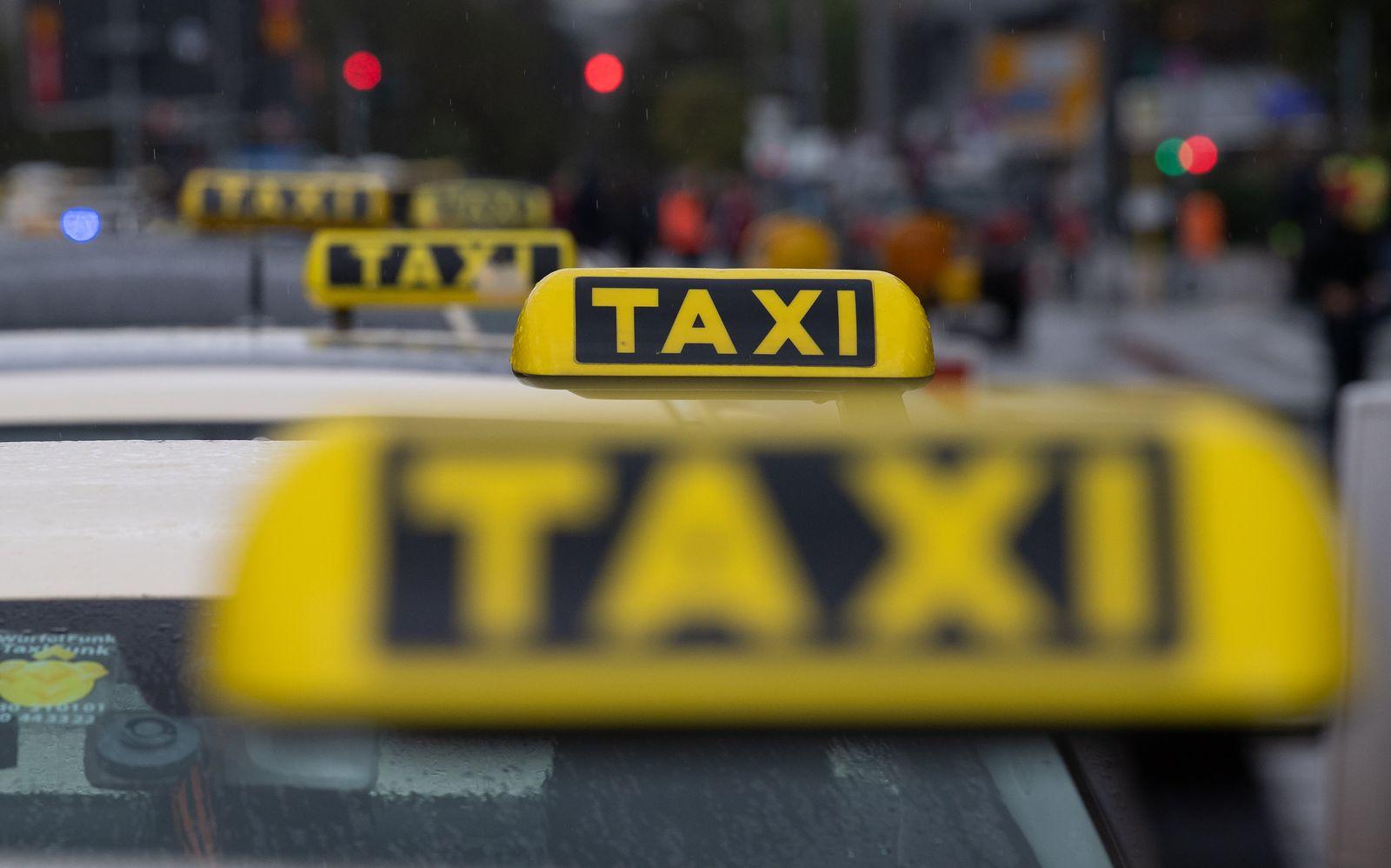 Die Lage in der Taxibranche spitzt sich zu