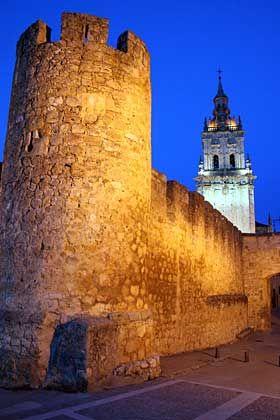Ritterromantik: In der Burg in Burgo de Osma machte El Cid im 11. Jahrhundert Station