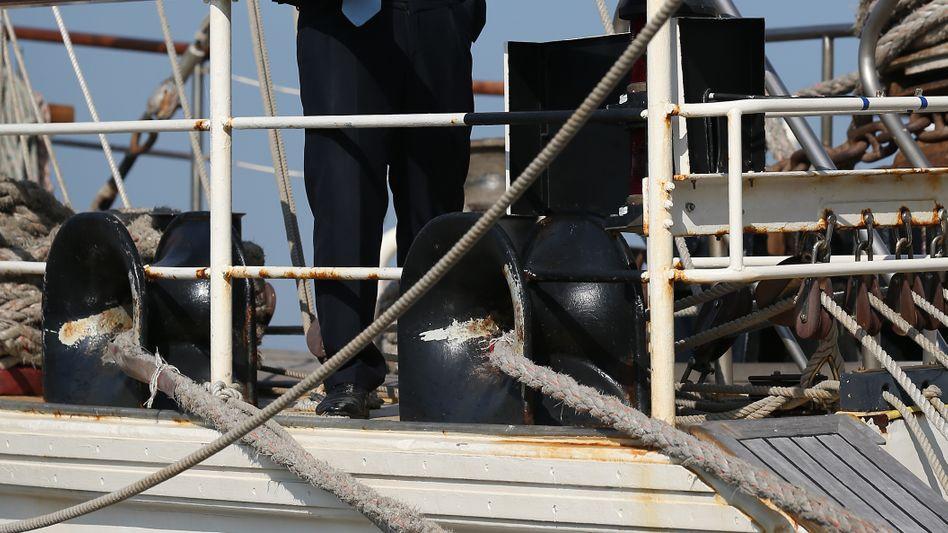 Boris Johnson: Der umtriebige Bürgermeister Londons (im Bild auf einem Schulschiff)