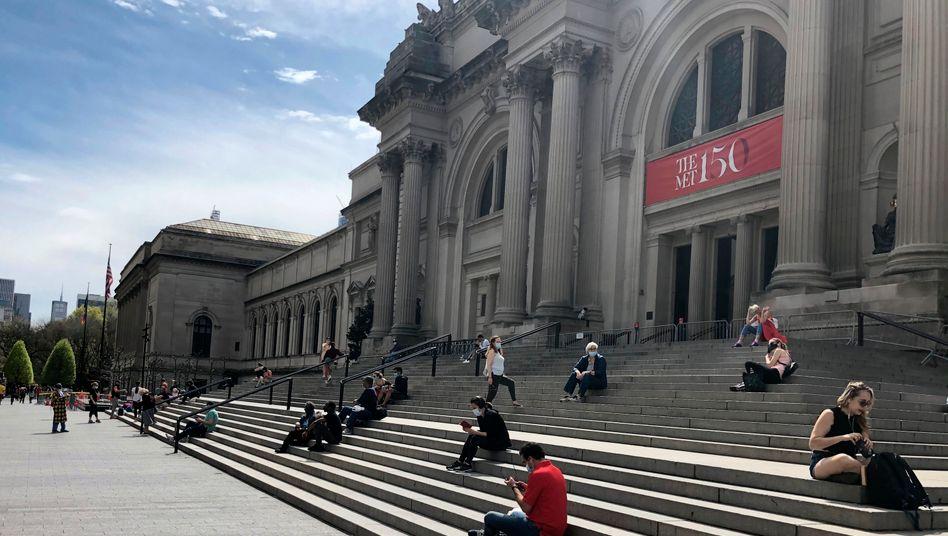 Das weltberühmte Metropolitan Museum of Modern Art in New York wird die Corona-Krise überstehen. 12.000 kleineren Museen in den USA droht dagegen das Aus
