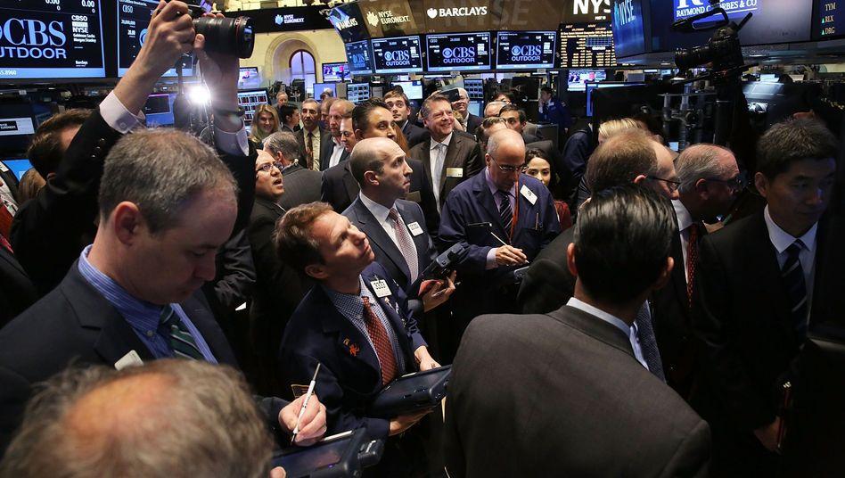 Händler an der NYSE (Archivbild): Hat die Story noch ein Happy End?