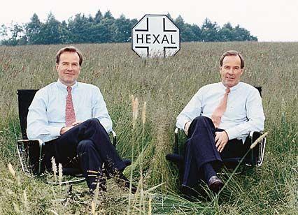 Feld-Herren: Andreas (r.) und Thomas Strüngmann wollen Hexal an die Börse führen