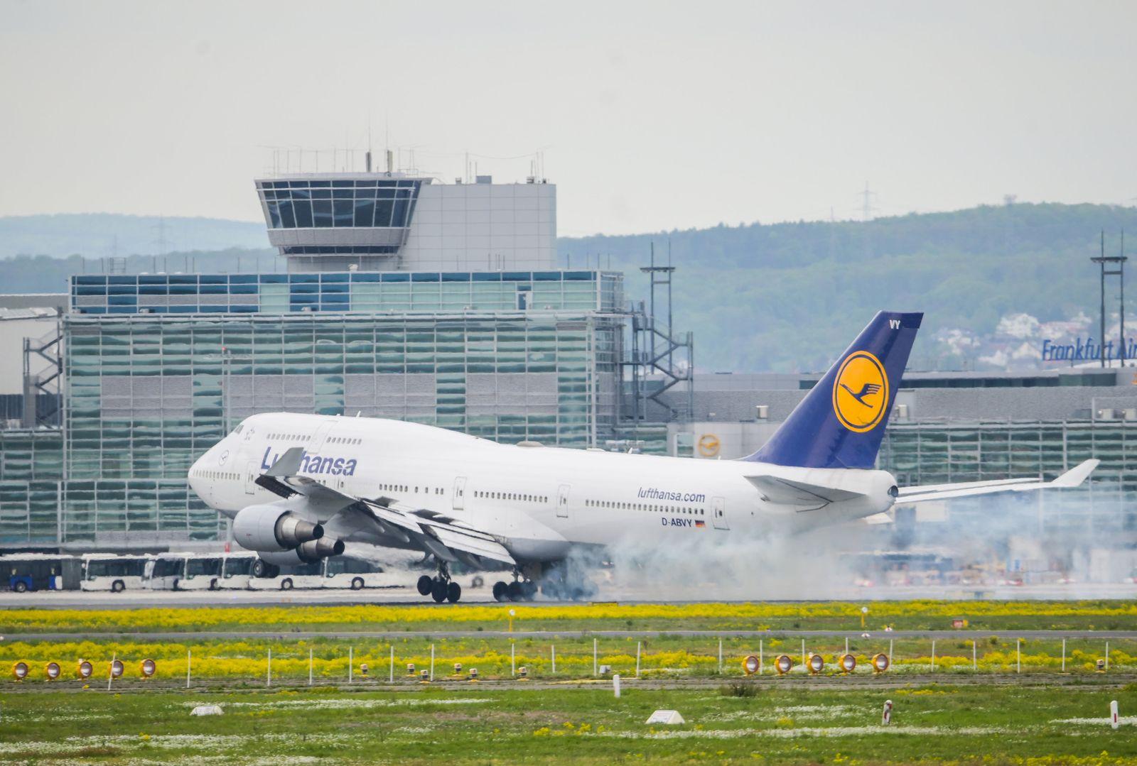 Frankfurter Flughafen / Lufthansa
