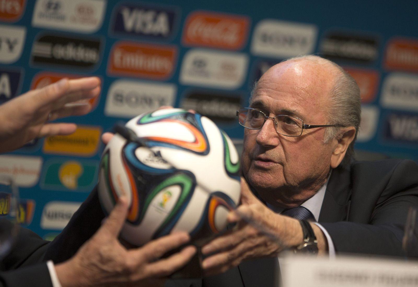 Joseph Blatter Adidas Fifa