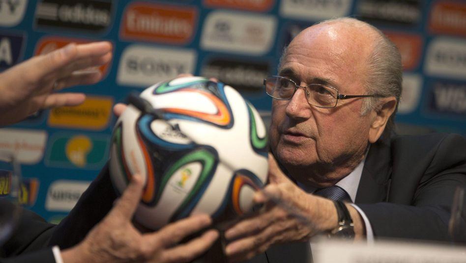 Fifa-Chef Blatter: Sponsor Adidas stimmt nicht in den Kanon von Coca-Cola und Co. ein
