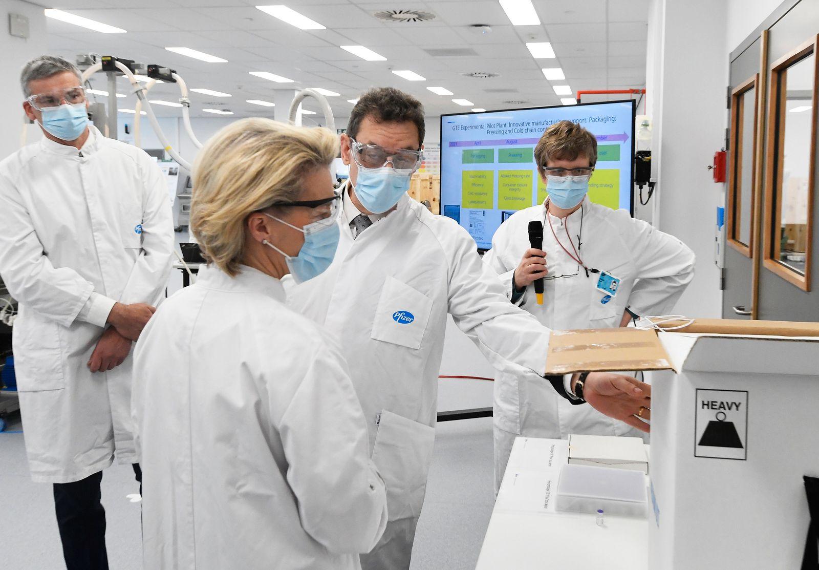 Coronavirus - EU verlängert Vertrag mit Pfizer-BioNTech