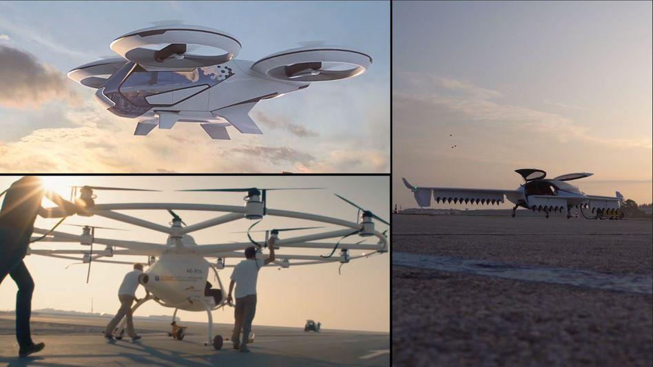 Konkurrenz in der Luft: Airbus will in diesem Sommer mit Tests für sein Flugtaxi starten