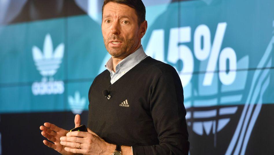Adidas-Chef Kasper Rorsted: Engineer und Highscorer zugleich