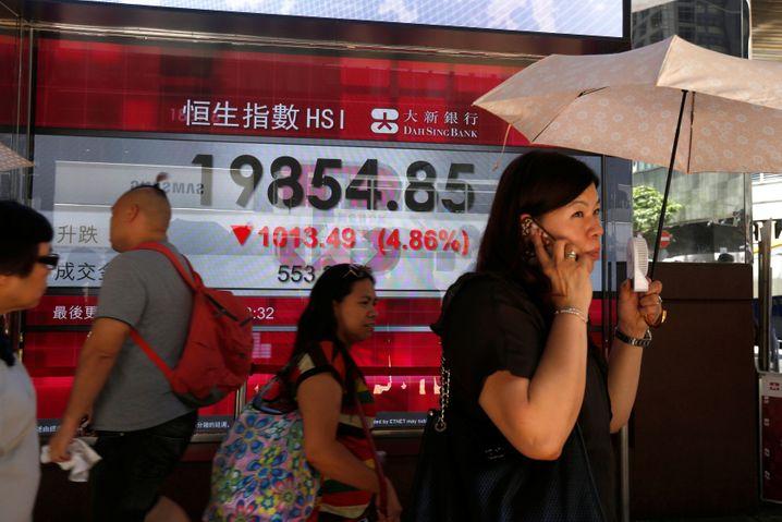 Die Börsen in China sind unruhig, weil der Staat vor allem Tech-Unternehmen immer stärker reguliert.