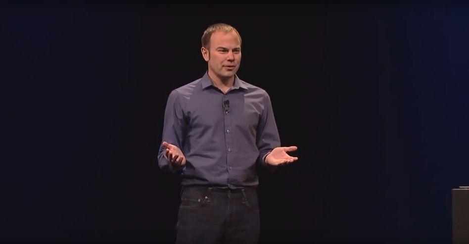 Chris Lattner im Jahr 2014