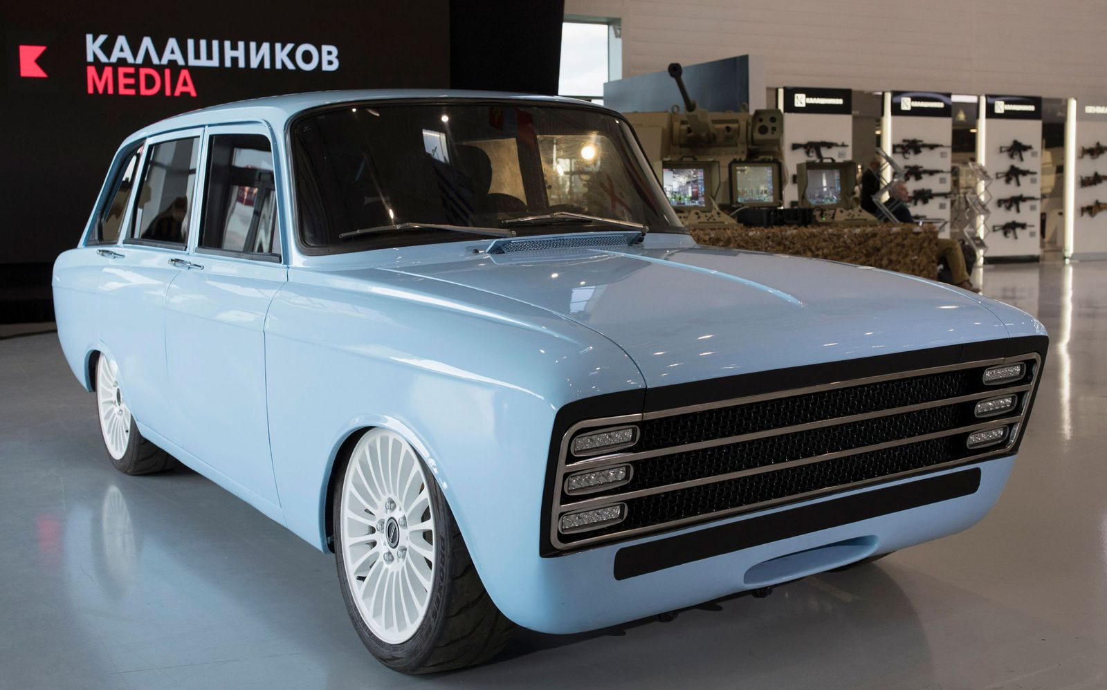 RUSSIA-AUTOMOBILE-TECHNOLOGY