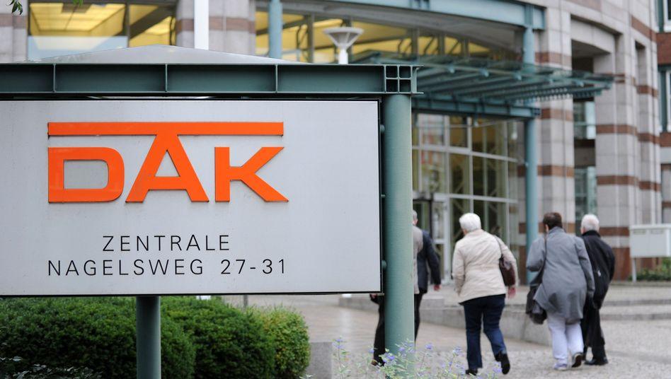 DAK-Zentrale in Hamburg: In wenigen Jahren droht die Krankenversicherung deutlich teurer zu werden