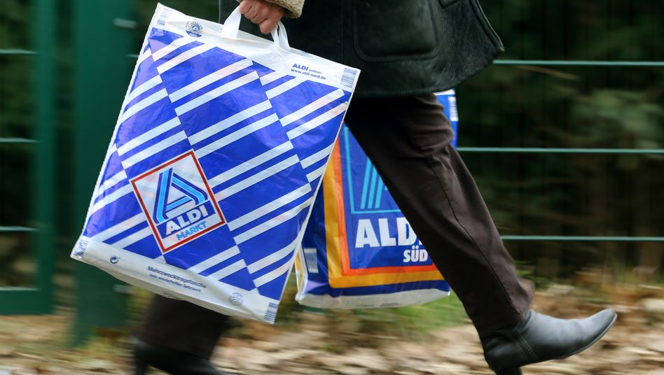 Bald nicht mehr zu Fuß: Bei Aldi Einkaufen gehen