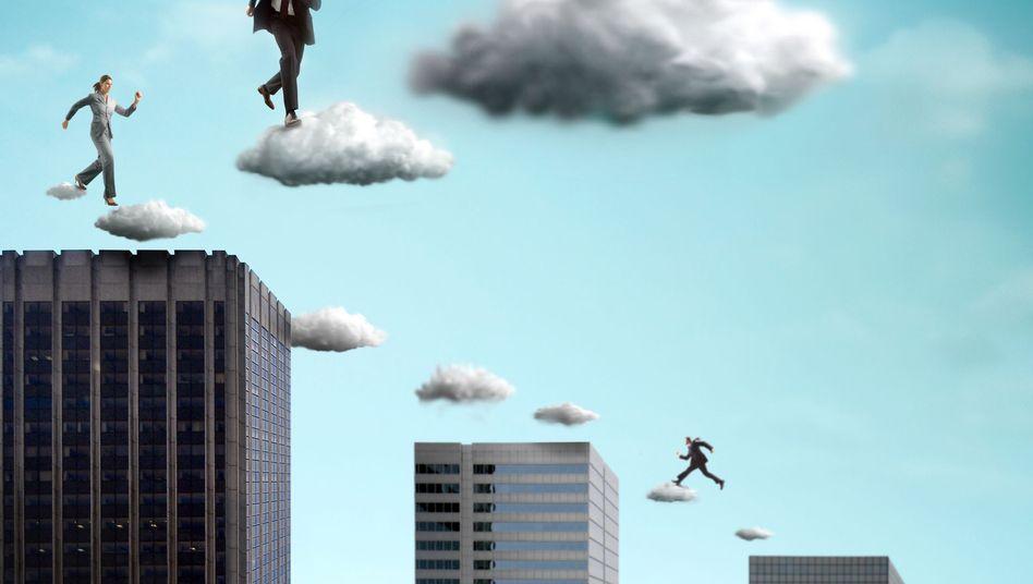 Der Einsatz von Cloud Computing kann für Arbeitnehmer Schattenseiten haben, befürchtet Verdi