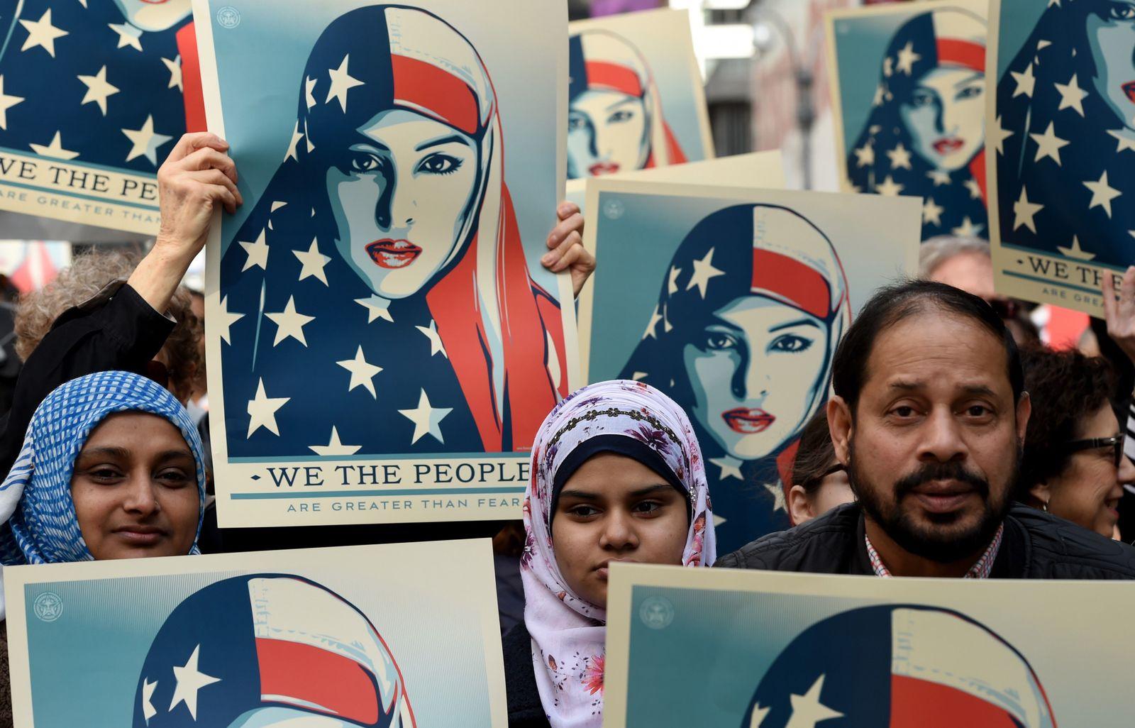 USA / Proteste / New York / Einreiseverbot