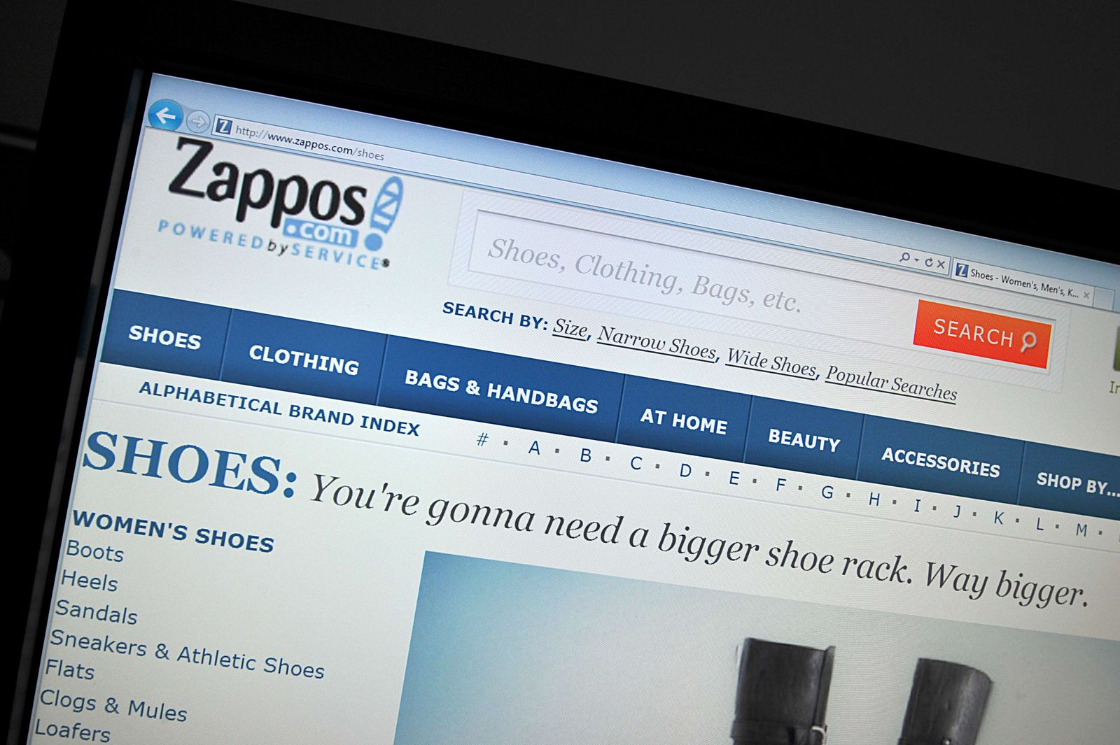 Zappos / Onlineshopping
