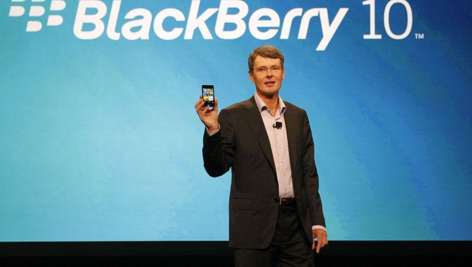 RIM-Chef Thorsten Heins: Der Hoffnungsträger Blackberry 10 kommt erst 2013