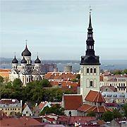 Die estnische Hauptstadt Tallinn: 90 Prozent des Bankvermögens sind in westeuropäischer Hand