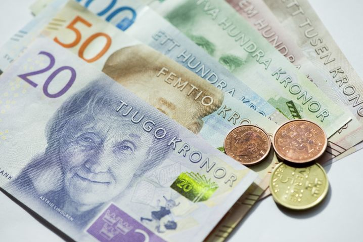 Schwedische Kronen-Note