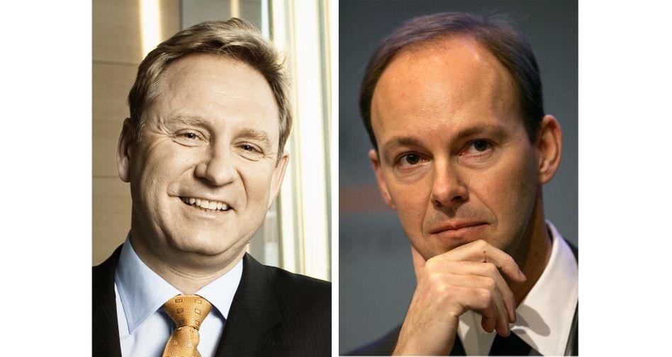 Wechsel an der Bertelsmann-Spitze: Hartmut Ostrowski (l.) wechselt in den Aufsichtsrat, Thomas Rabe wird Vorstandschef