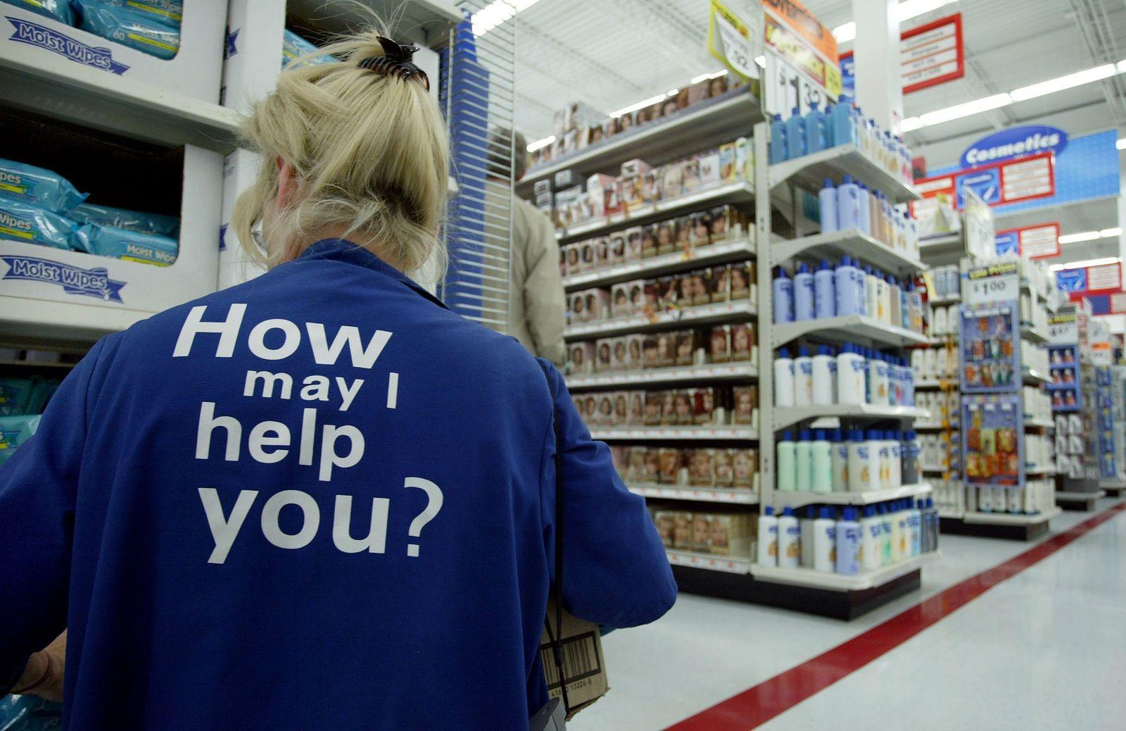 Niederlage für Wal-Mart / Leerer Supermarkt