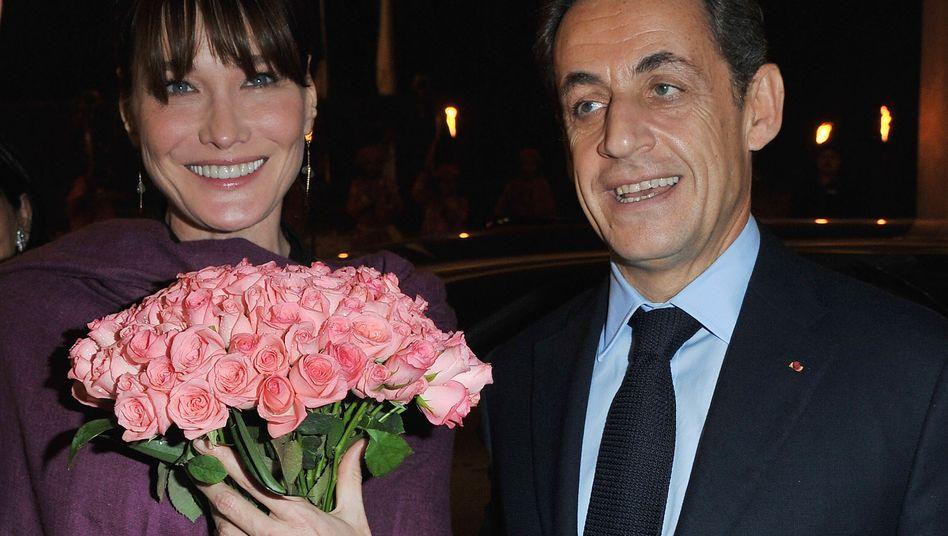 Carla Bruni und Nicolas Sarkozy: Ihr erstes gemeinsames Kind kam gestern zur Welt