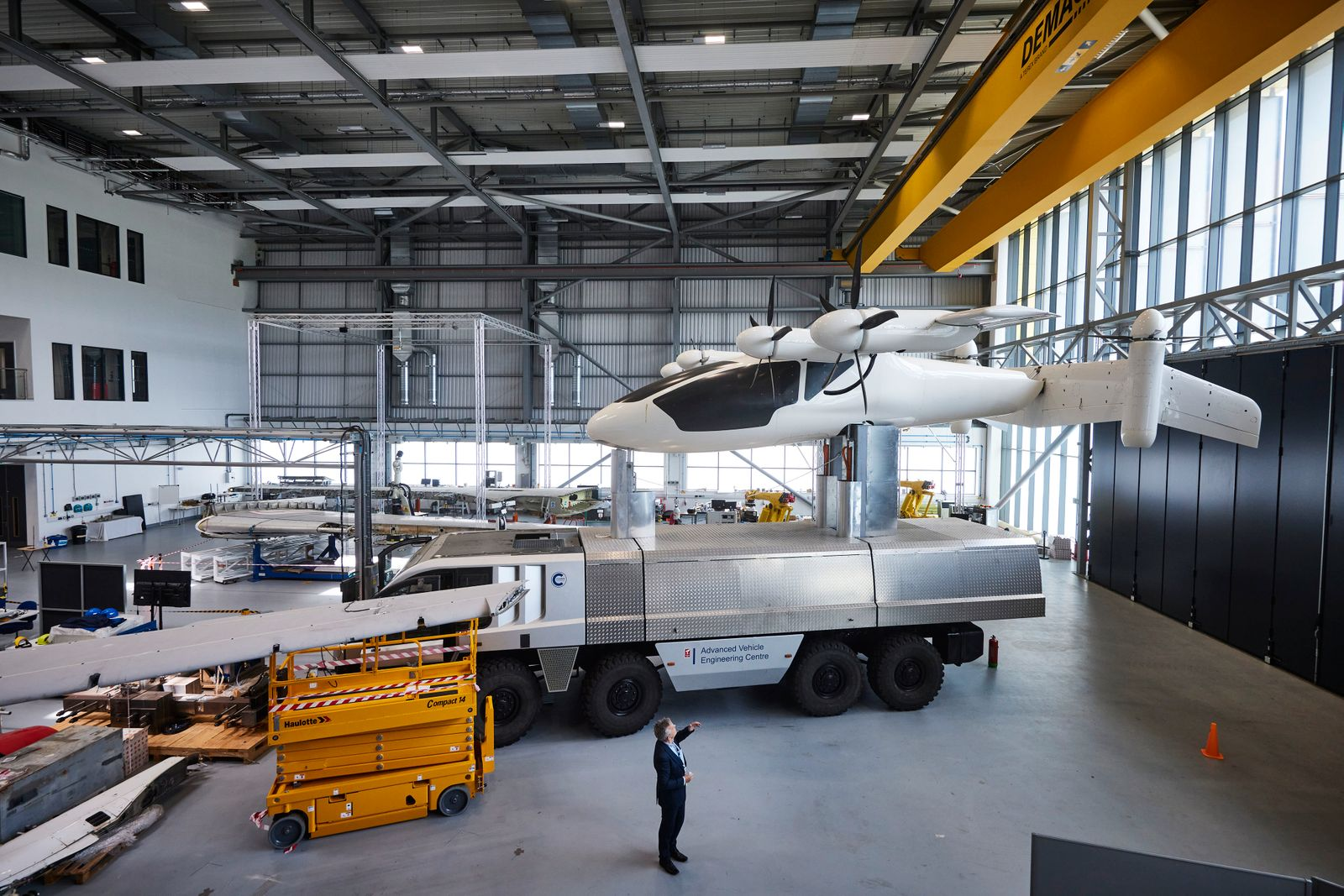 ?They said we were eccentrics?: the UK team developing clean aviation fuel. In the search for sustainable flying, Cranfield University might have found the answer in hydrogen