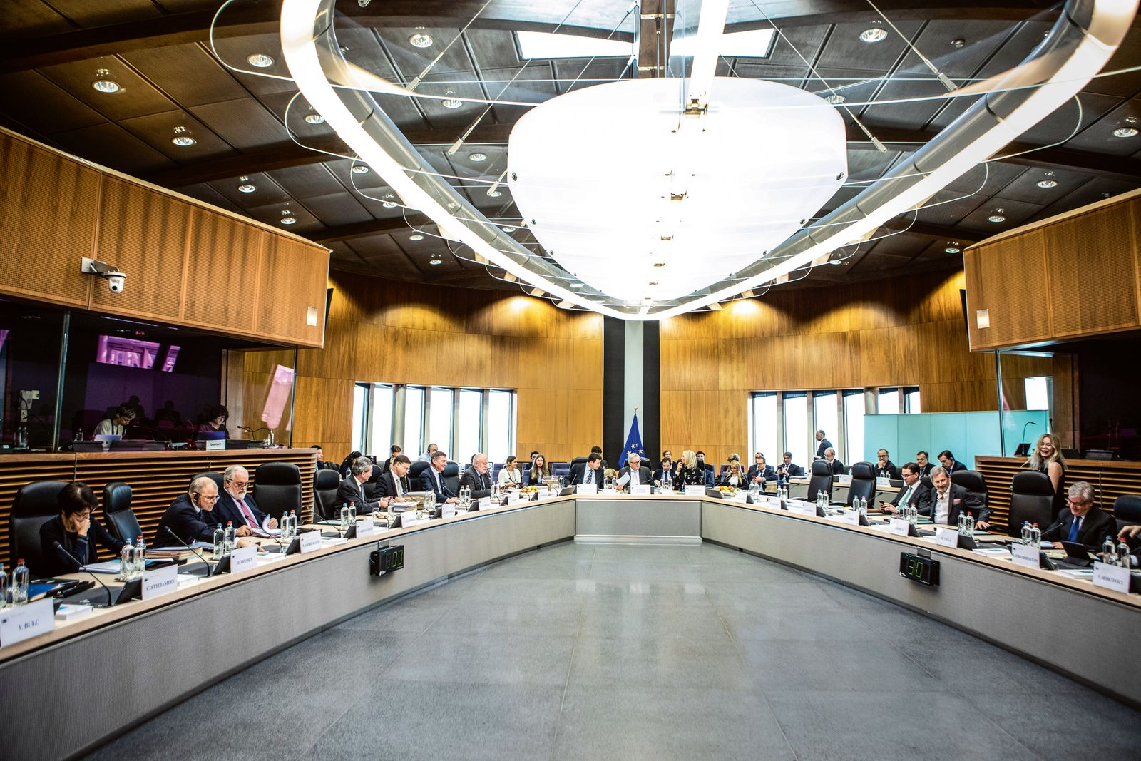 Weekly meeting of the College of the Juncker Commission.