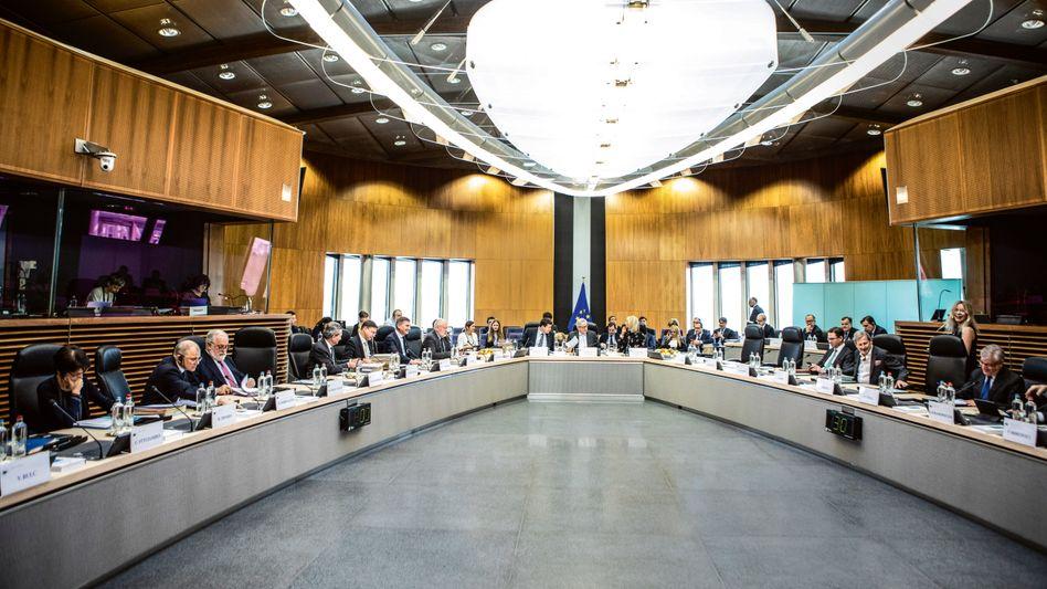 Trutzburg: Im 13. Stock des Berlaymont – Brüsseler Hauptsitz der EU-Kommission – tagt das College der Kommissare