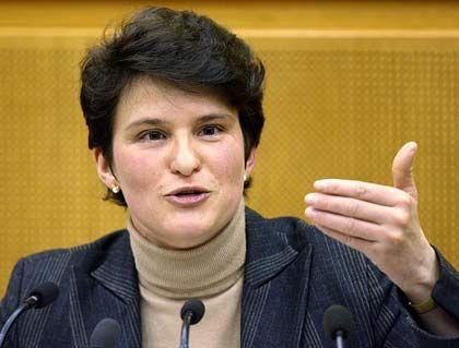 Verdächtige: Umweltministerin Gönner