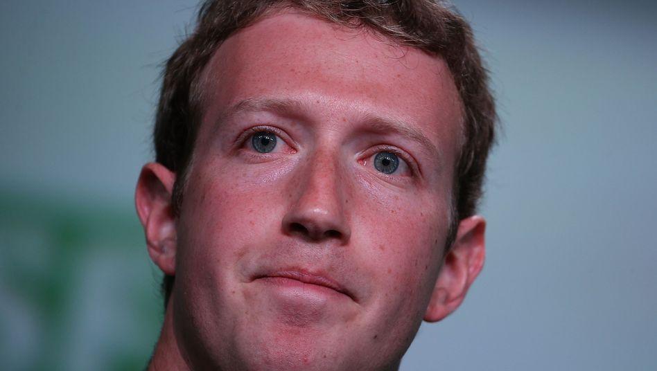 Beisst bei Snapchat offenbar auf Granit: Facebook-Chef Mark Zuckerberg