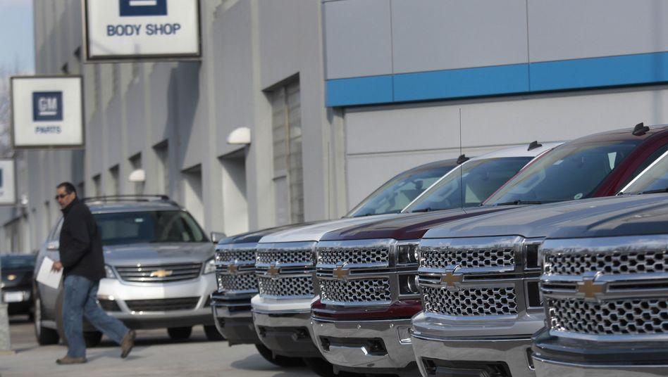 GM-Händler in Detroit: 2,6 Millionen Fahrzeuge zurückgerufen