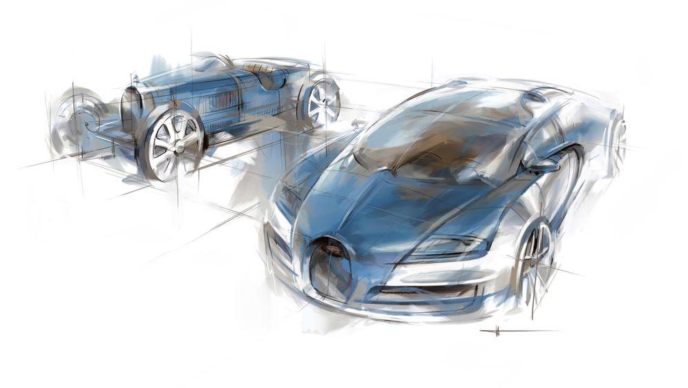 """Bugatti Veyron """"Meo Costantini"""": Ein schneller blauer Traum"""