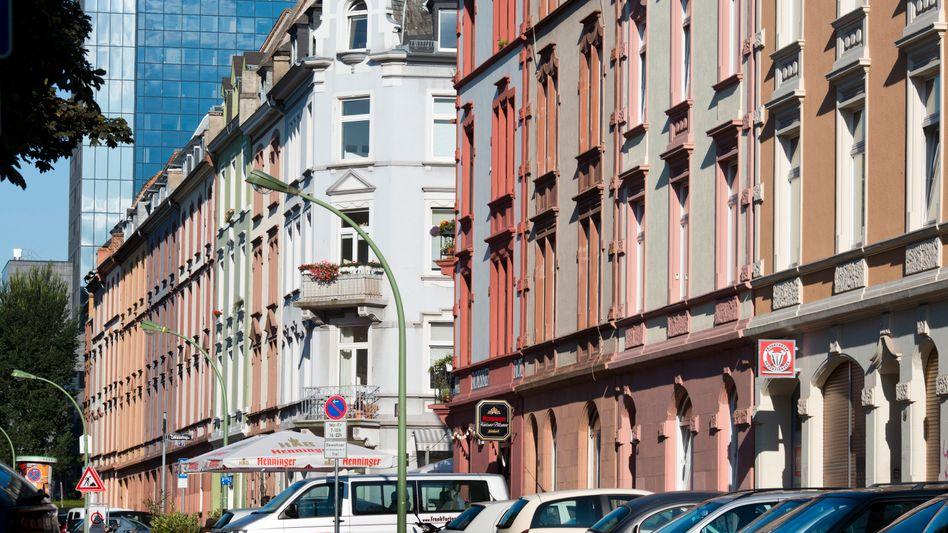 Häuser im Frankfurter Nordend: Innenstädte verlieren an Anziehungskraft