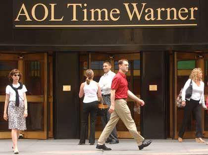 TV-Testballon im WEB: AOL Time Warner in New York