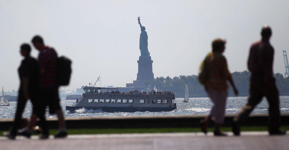 Bürger an der New Yorker Promenade: 13 vereitelte Terroranschläge seit September 2011