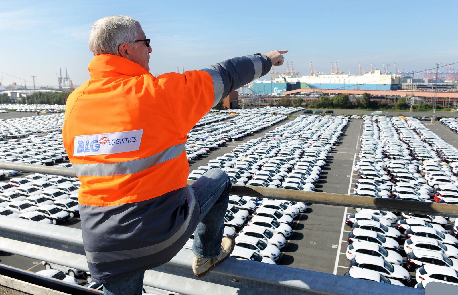 Deutschland / Export / USA / Auto-Export / / Autoterminal Bremerhaven