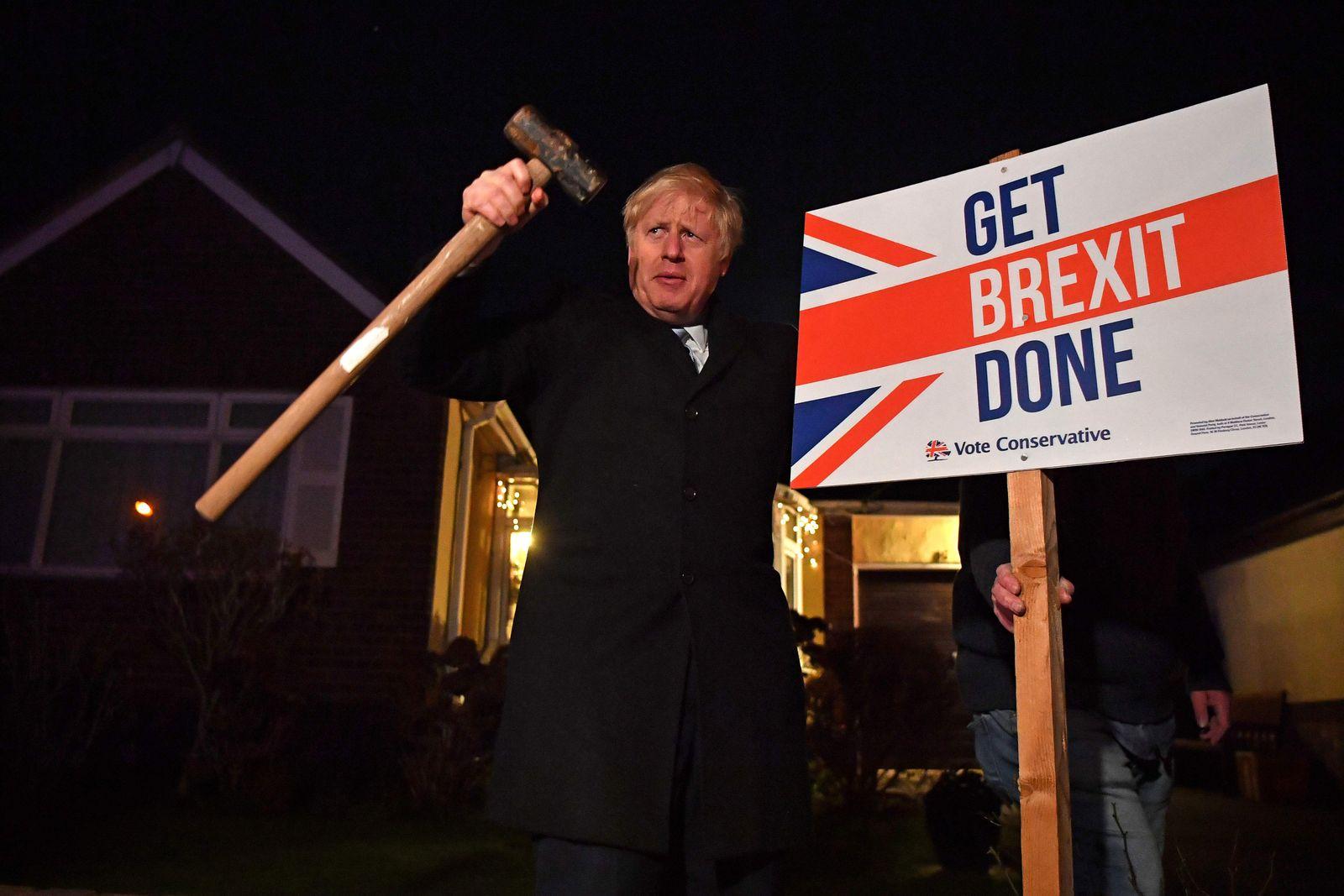 Wahlen in Großbritannien/ Brexit/ Dezember 2019